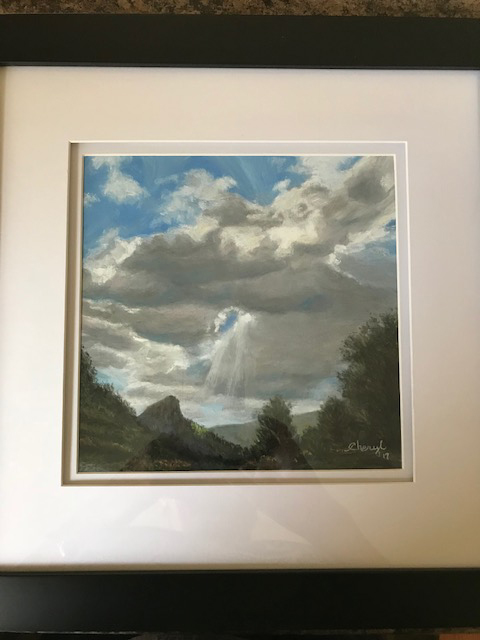12b Cheryl Verrecchia - Monsoon Skies - pastel