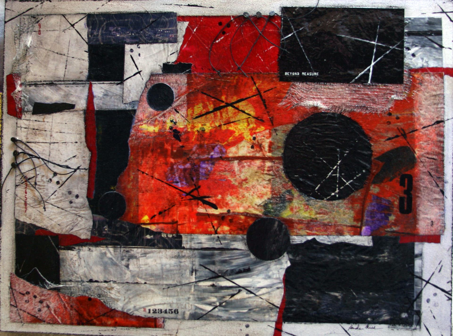 36b Ronda Miller - Beyond Measure - mixed media