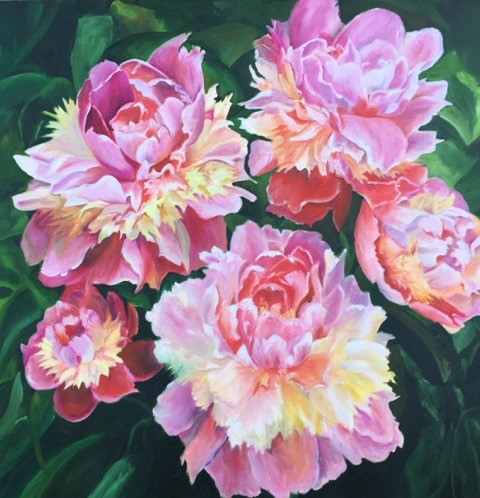 40b Berni Carney - Pretty in Pink - oil