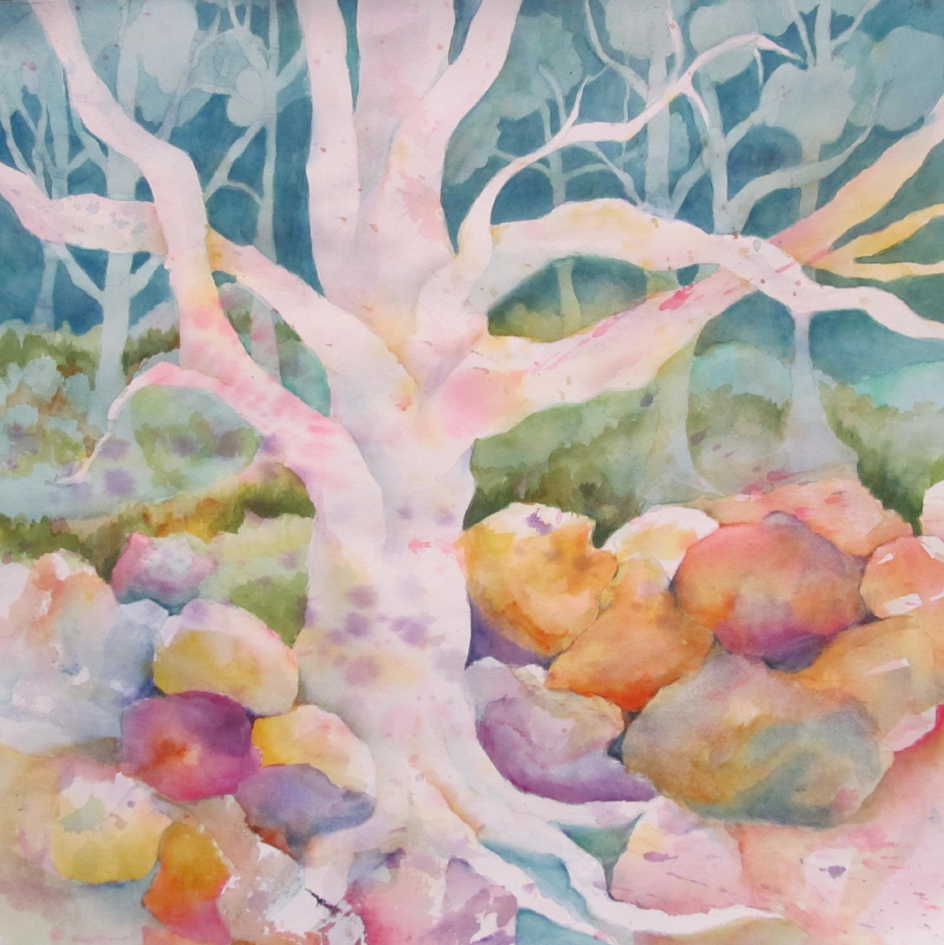 41a Arlene Miller - Woodland Fantasy - watercolor