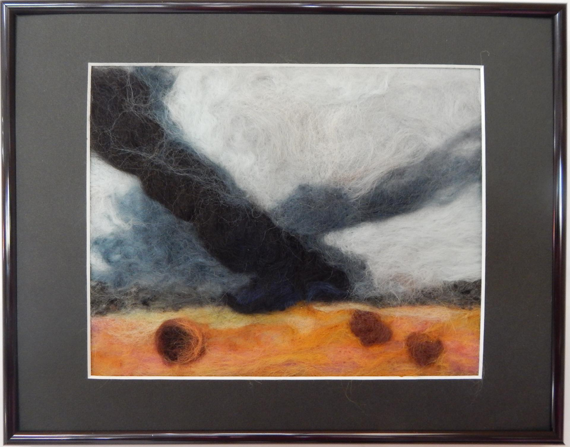 42b Anna Marie Peterson - Take Cover - needle felt
