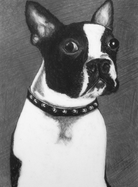47a Ronnie Francis - Queenie - colored pencil - Honorable Mention