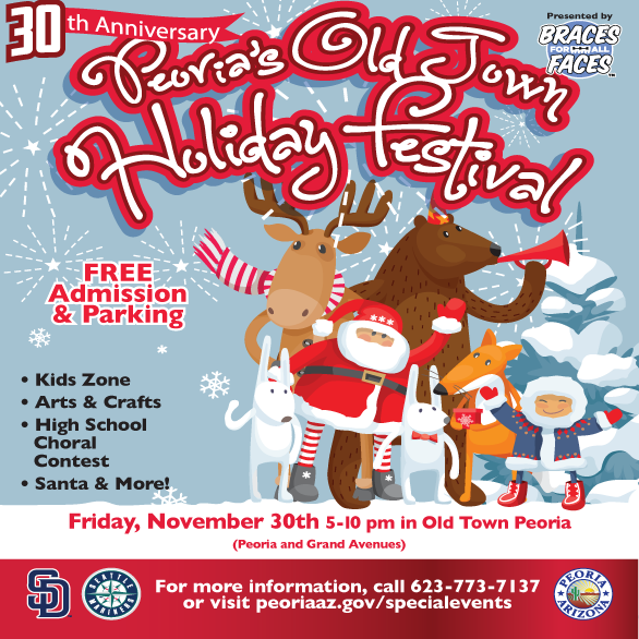 old town holiday flyer 2018
