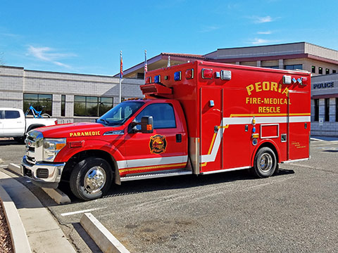 Peoria Fire-Medical Ambulance Service | City of Peoria