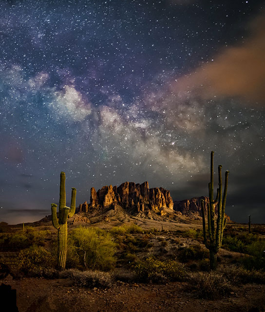 Keith Dines - Lost Dutchman Night Sky (photo)