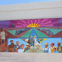 PAZ Mural in Old Town Peoria