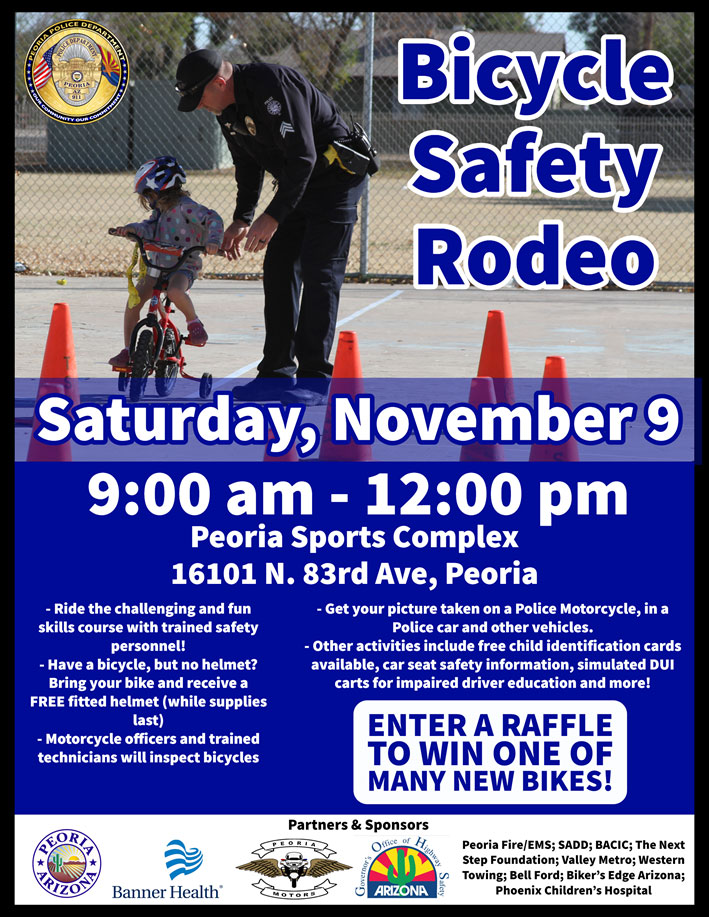 Bicycle Safety Rodeo Nov 2019