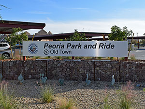 Peoria Park and Ride Facility