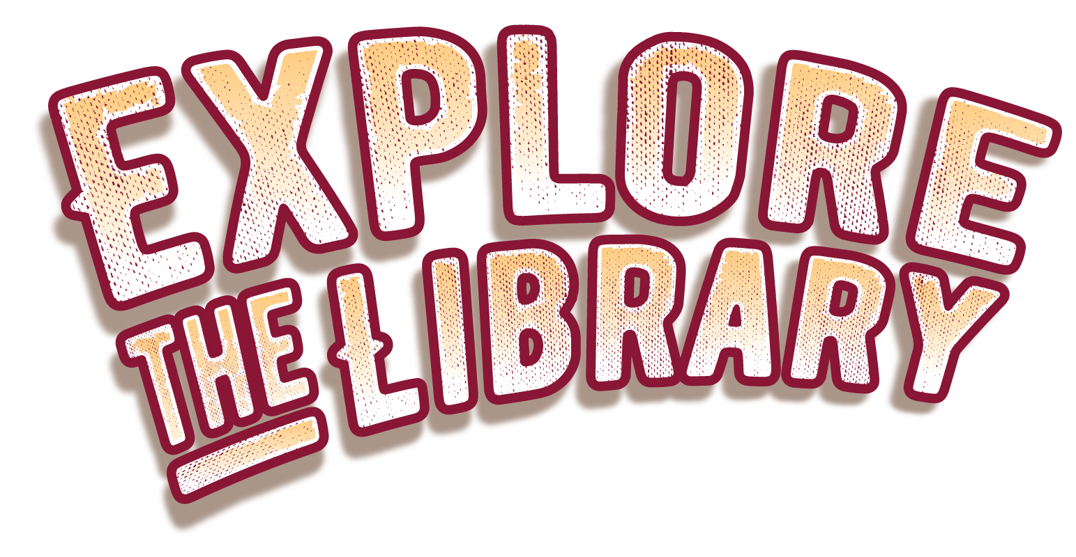 Explore the Library logo