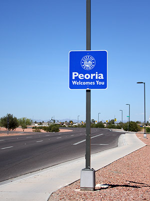 Peoria Welcomes You